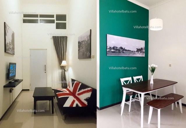 Villa Delima Batu Fasilitas Free Wifi Dan Tv Kabel