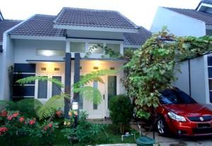 Villa Rumah Daun Batu