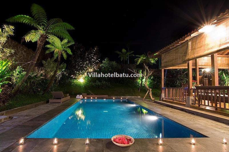 Villa Mulyono Batu pool