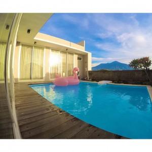 Villa Di Batu Yang Memiliki Fasilitas Kolam Renang Dengan Harga Murah