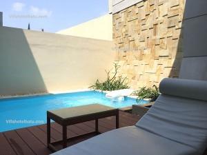 Penginapan Kolam Renang Exclusive Villa Batu A