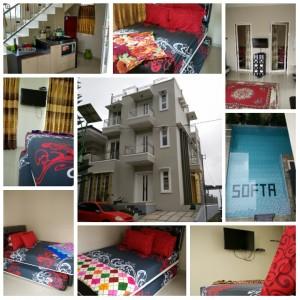 Villa softa 9 kamar tidur di kota batu