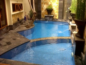 Private pool Villa Candu Batu