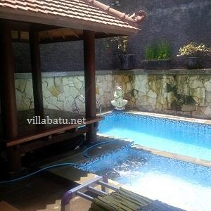 Tarif Villa Kusuma Estate Kolam Renang Batu