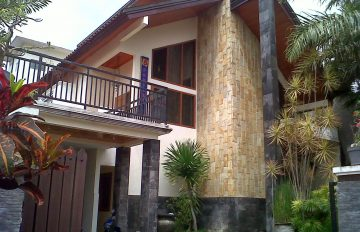 Villa Candu Batu Fasilitas Kolam Renang Dan Bilyard