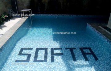 Villa Softa Batu Fasilitas Kolam Renang