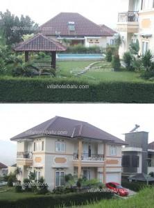 san luis Villa Batu Fasilitas Besar fasilitas kolam renang
