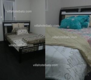 Villa 5 kamar di lengkapi kolam renang batu