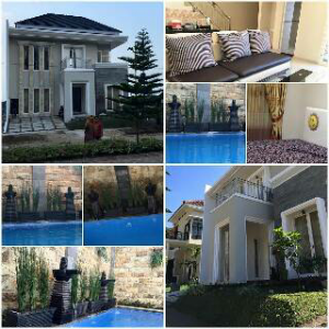 Villa Ravish Kolam renang batu