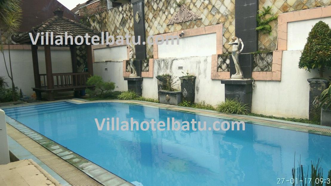 Villa kolam renang dekat wisata batu