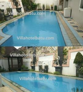 Villa private pool di batu malang