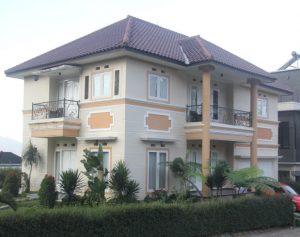Villa kapasitas besar di batu dekat museum angkut