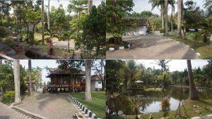 Villa Dengan Kolam Pancing Batu
