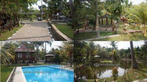Villa Desain Kayu Batu