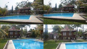 Villa Omah Kayu mojowarno batu