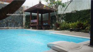 villa private pool murah batu