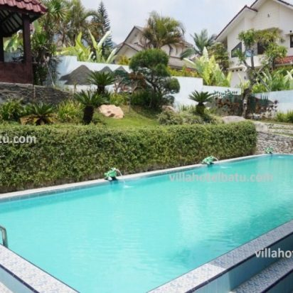 Villa dengan Fasilitas Lengkap di Daerah Batu Malang